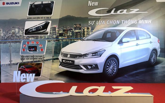Suzuki Ciaz mới nhập từ Thái Lan giá 529 triệu đồng có làm các đối thủ cùng phân khúc lo lắng?